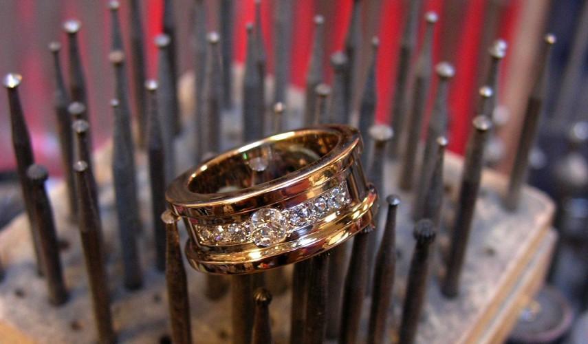 edelsmid atelier goud diamant