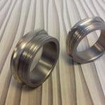 trouwringen in titanium