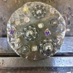 zeeuwse hanger in zilver met zeeuwse knopen citrien amethist bergkristal rozekwarts