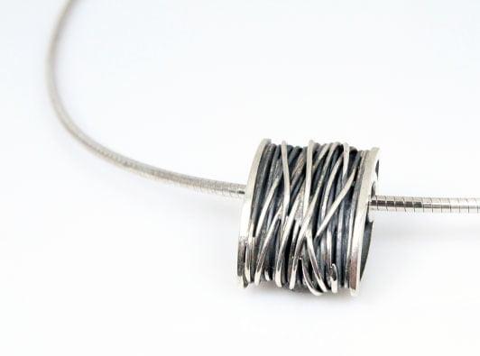 zilver hanger draad