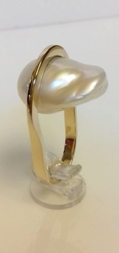 parel ring goud edelsmid atelier amfora sluis