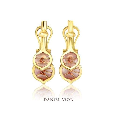 daniel vior earrings-lunaria-